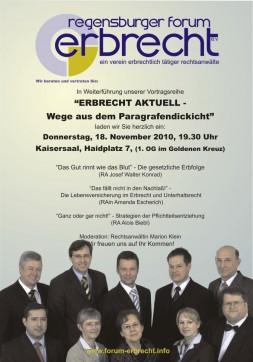 Erbrecht aktuell in Regensburg