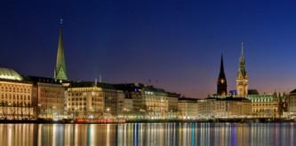 Hamburg - City und Außenalster