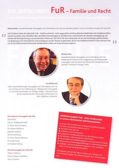 Fachanwälte Familienrecht Regensburg - FuR-Seite2